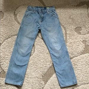 1969 Gap Original Blue Jeans sz 10 Light Wash